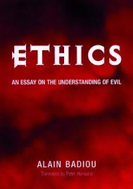ethics - Ethics: An Essay on the Understanding of Evil