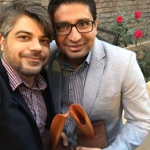 Chehel Award 2 300x300 - Mohammad Tolouei Receives the Iranian 'Under 40 Award'
