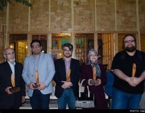Chehel Award 3 300x234 - Mohammad Tolouei Receives the Iranian 'Under 40 Award'